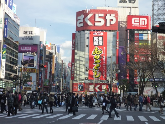 Around Tokyo: Shinjuku and the Metropolitan Government Building